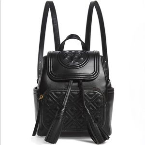 Tory Burch Fleming Backpack Black